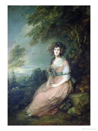 Mrs. Richard Brinsley Sheridan, circa 1785-6