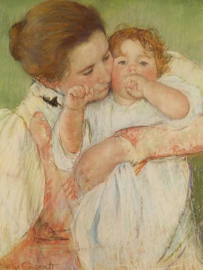 Mother and Child, 1897 Giclee Print by Mary Cassatt at ...