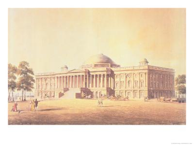 Capitol of the United States, Engraved by Thomas Sutherland, 1825