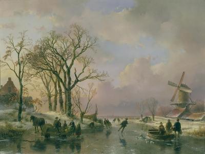 Skating in Holland