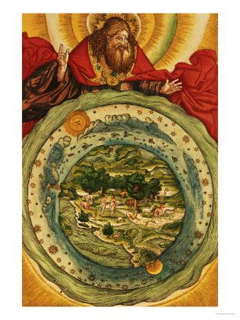 The Creation, from the Luther Bible, circa 1530