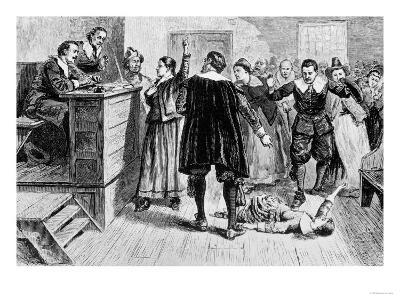 Witchcraft at Salem Village, Fr. the Romance and Tragedy of Pioneer Life by Augustus L. Mason, 1883
