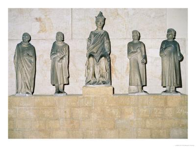 Statue of Henry VII (1274/5-1313), Holy Roman Emperor, with His Counsellors 1315