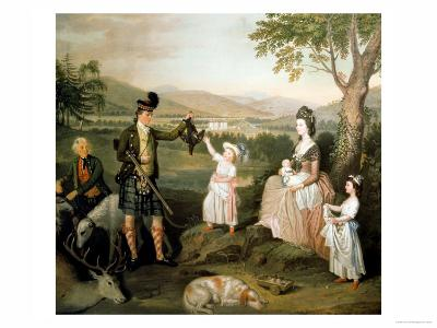 John, the 4th Duke of Atholl and His Family, 1780