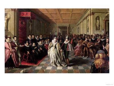 Ball at the Court of Henri III on the Occasion of the Marriage of Anne, Duke of Joyeuse