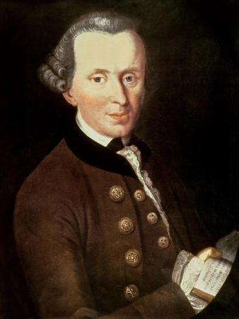 Portrait of Emmanuel Kant (1724-1804)