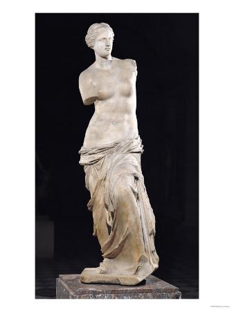 "Aphrodite, the ""Venus De Milo,"" Hellenistic Period, circa 130-100 BC"