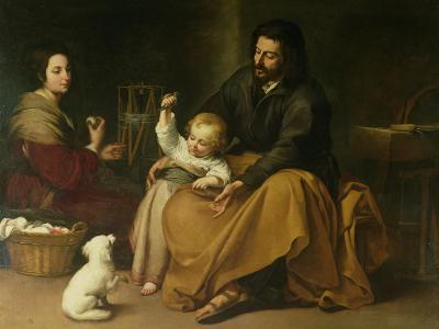 The Holy Family with the Little Bird, circa 1650