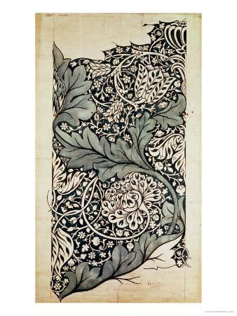 Design for Avon Chintz, circa 1886