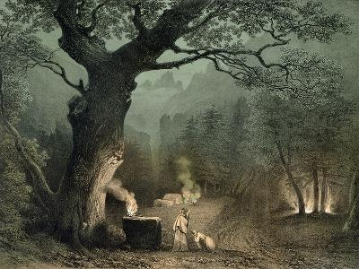 """The Sacred Grove of the Druids, from the Opera """"Norma"""" by Vincenzo Bellini (1802-35)"""