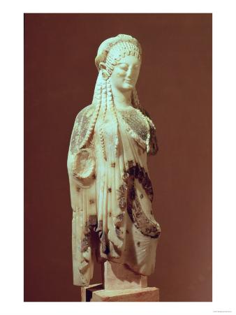 Kore Figure, circa 510 BC