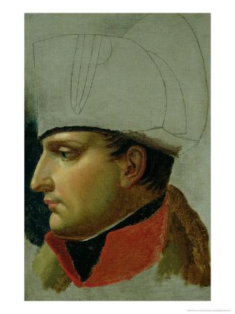 Unfinished Portrait of Napoleon I (1769-1821) 1808
