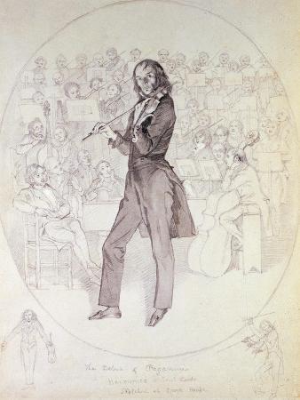 Niccolo Paganini (1784-1840), Violinist