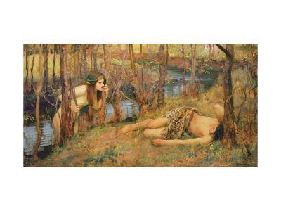 The Naiad, 1893 (Hylas with a Nymph)