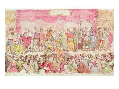 Richardson's Theatre, Published by Ackermann's