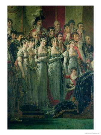 The Consecration of the Emperor Napoleon (1769-1821) and the Coronation of the Empress Josephine