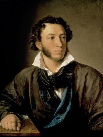 Portrait of Alexander Pushkin (1799-1837)