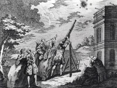 Halley's Comet Observed in 1759 by Cassini III (1714-84)