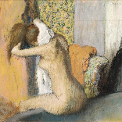 After the Bath, Woman Drying Her Neck, 1898
