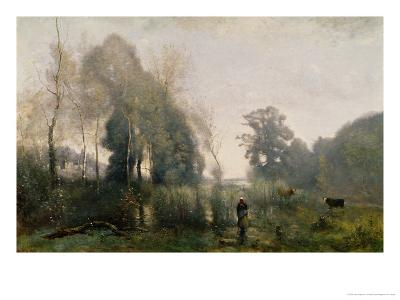 Morning at Ville-D'Arvray Or, the Cowherd, 1868