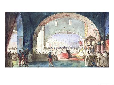 The Meeting of the Chapter of the Order of the Temple Held in Paris in 1147