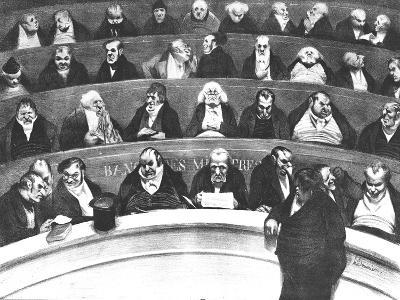 The Stomach of the Legislature, the Ministerial Benches of 1834