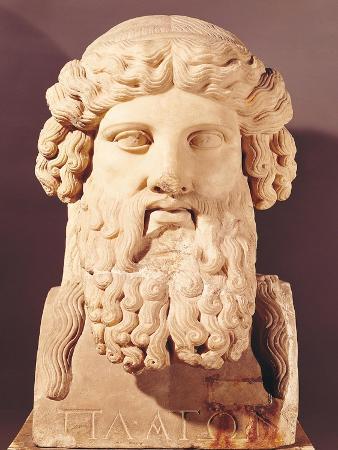 Bust of Plato (circa 428-circa 348 BC)