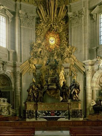 The Chair of St. Peter, 1665