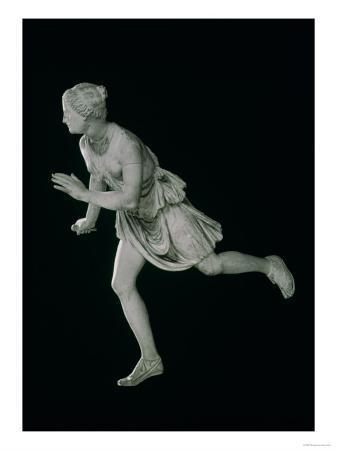Atalanta, 3rd-2nd Century BC (Marble), Female Athlete in Greek Mythology