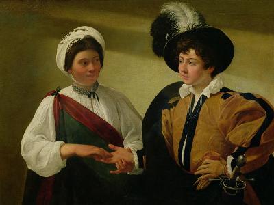 The Fortune Teller, circa 1596-97