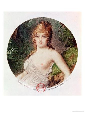 Theresa De Cabarrus (1773-1835) Aka Madame Tallien, Printed by Boussod, Valadon and Company, 1895