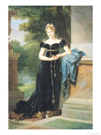 Portrait of Marie Laczinska (1786-1817) Countess Walewska, 1812