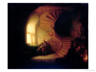 Philosopher in Meditation, 1632