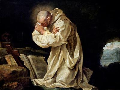 St. Bruno (1030-1101) Praying in the Desert, 1763
