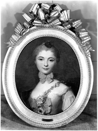 Portrait of Louise Honorine Crozat Du Chatel (B.1737) Duchess of Choiseul