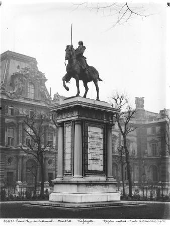 Monument Dedicated to General Lafayette (1757-1834) 1899-1907