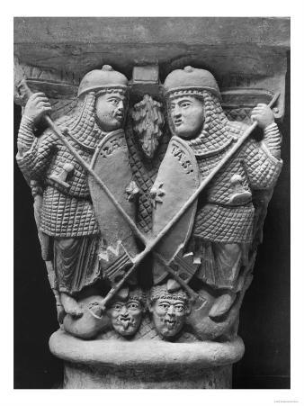 Generosity and Charity Piercing Two Vices, Capital of the Fight of the Vices Against the Virtues