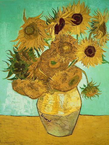 where would i find sunflowers by vincent van gogh