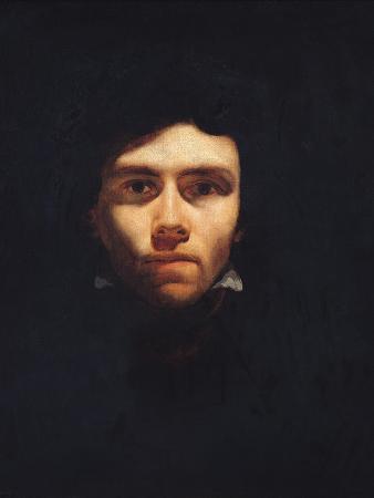 Portrait of Eugene Delacroix (1798-1863) circa 1818-19