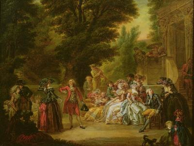 The Minuet under the Oak Tree, 1787