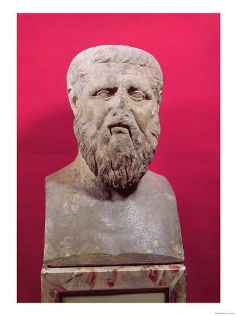 Bust of Plato (circa 427-347 BC) Copy of a 4th Century BC Original