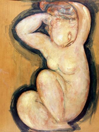 Caryatid, circa 1913-14