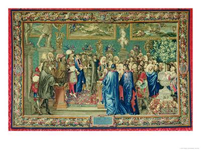 Audience Granted by Louis XIV (1638-1715) to the Count of Fuentes