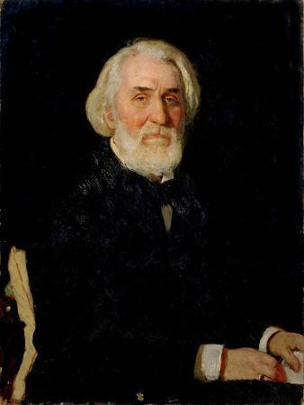 Portrait of Ivan S. Turgenev (1818-83), 1879