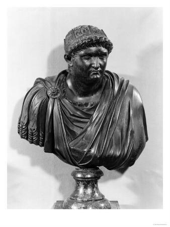 Bust of Nero (37-68 AD), Copy of an Original from Antiquity