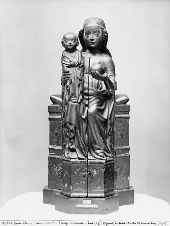 Virgin (Which Opens) (Closed), Early 15th Century