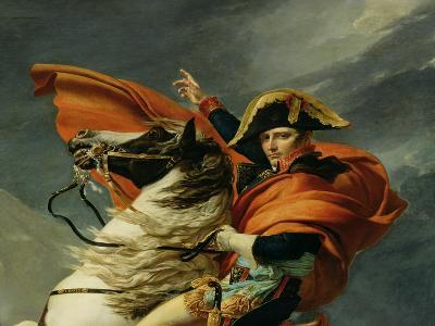 Napoleon Crossing the St. Bernard Pass, circa 1801 (Detail)