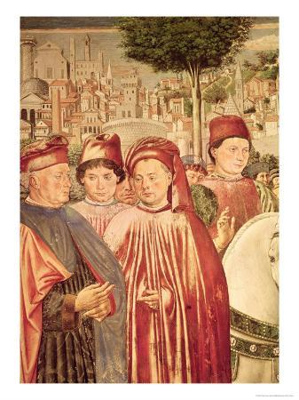 St. Augustine Departing for Milan, from the Cycle of the Life of St. Augustine, 1464-65