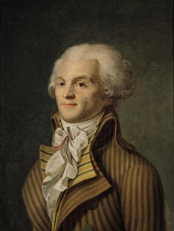 Portrait of Maximilien De Robespierre (1758-94)