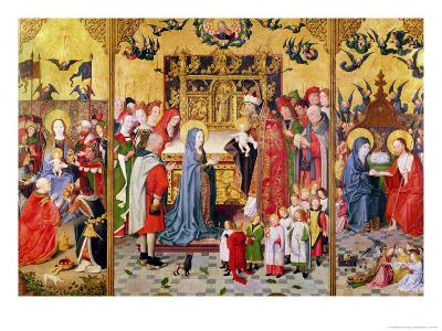 Altarpiece of the Seven Joys of the Virgin, of the Adoration of the Magi